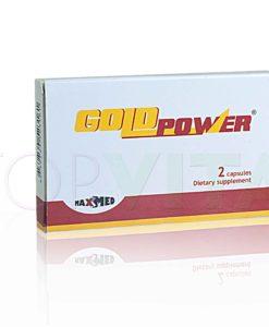 A Gold Power potencianövelő segít a keményebb merevedés elérésében és növeli a férfi potenciált. Természetes összetevőkből áll és OÉTI által engedélyezett.