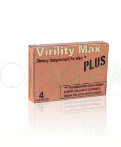 Viriliti Max Plus a Viriliti Max alkalmi potencianövelő legújabb, kapható formulája! Bevizsgált, eredeti termék, diszkrét csomagolásban a Topvital-on!