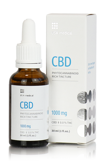 USA medical CBD olaj 30 ml 1000 mg