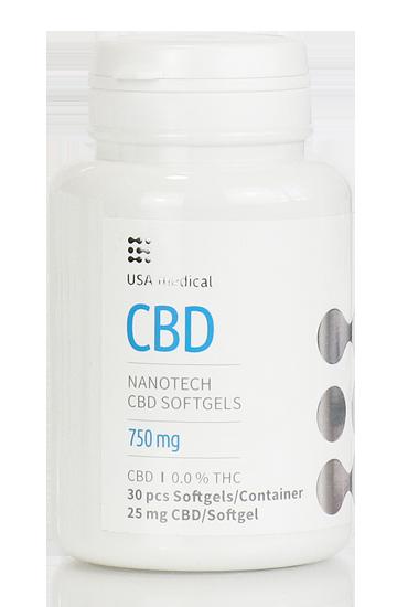 USA medical CBD kapszula 750 mg 30 db