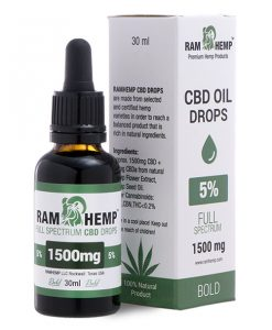 RAMHEMP FullSpectrum 5 % CBD olaj 30 ml