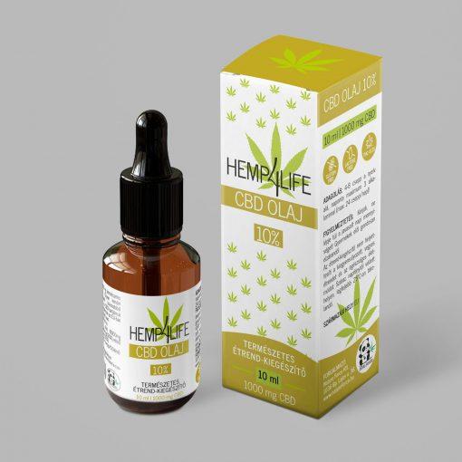 Hemp4Life CBD olaj 10 ml 10 %