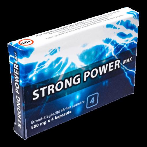 Strong Power Max potencianövelő férfiaknak
