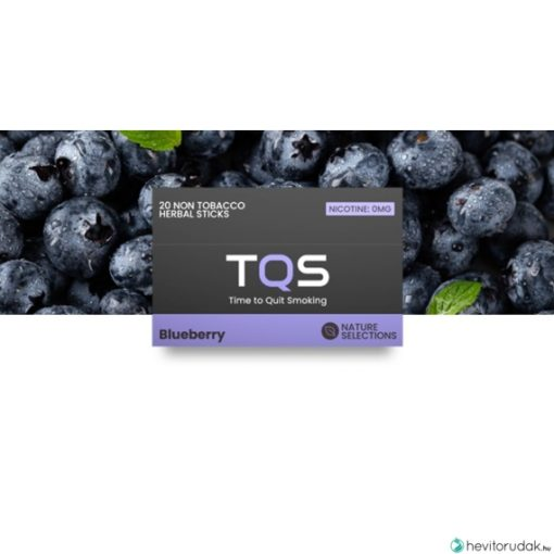 TQS Áfonya ízű nikotinmentes hevítőrúd - 1 DOBOZ