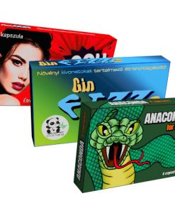 Anaconda, Gin Fizz Plus, Machooh alkalmi potencianövelő csomag