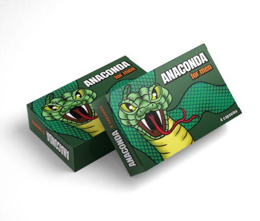 Anaconda 4 kapszulás alkalmi potencianő dupla