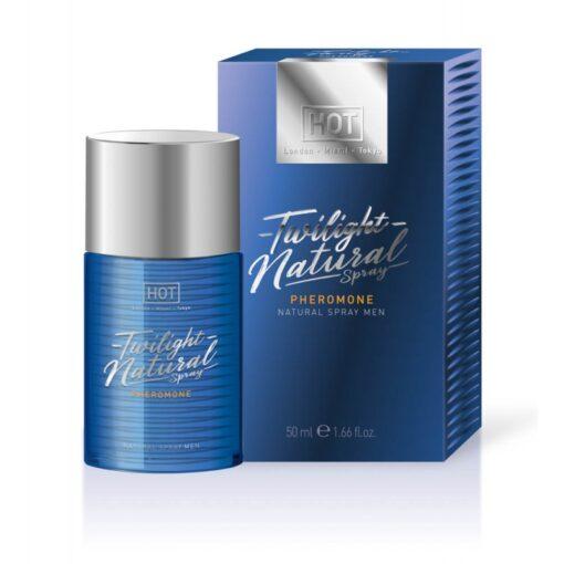 HOT Twilight Natural - feromon parfüm férfiaknak - illatmentes 50ml