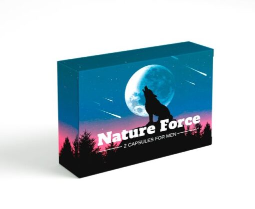 Nature Force 2kapszulás alkalmi potencianő férfiaknak.